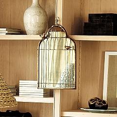 Birdcage mirror